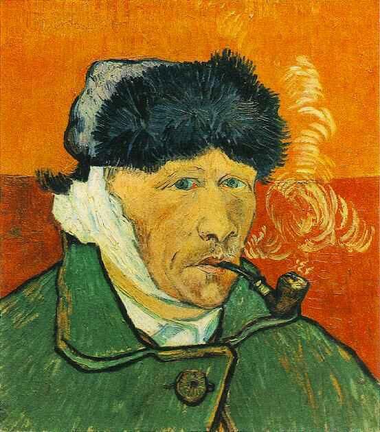 Autoritratto con orecchio bendato